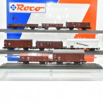 Roco 44003 Güterwagen-Set der DR Ep.II, Wechselstrom,  (21028)