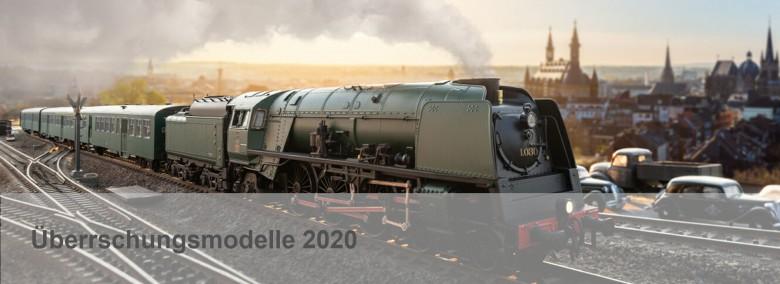 Slideshow Märklin Überraschungslok 2020