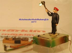 Kibri 010 Fahrdienstleiter, (16571)