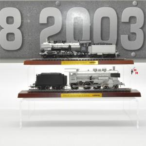 """Märklin 00380 Dampflokomotiven BR 38 """"Metall-Technologie-Edition"""", (25350)"""