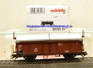 Märklin 00765-07 Schiebedachwagen DB, aus Display, (11465)