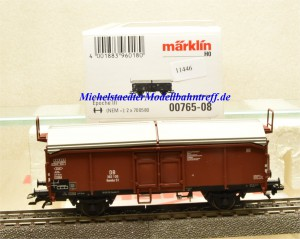 Märklin 00765-08 Schiebedachwagen DB, aus Display, (11446)