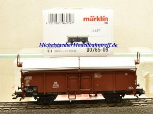 Märklin 00765-09 Schiebedachwagen DB, aus Display, (11447)