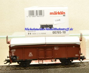 Märklin 00765-10 Schiebedachwagen DB, aus Display, (11448)