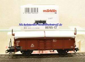 Märklin 00765-13 Schiebedachwagen DB, aus Display, (11437)