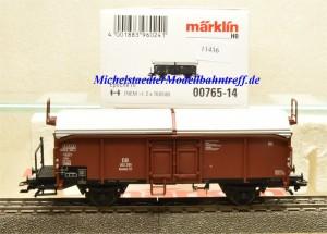 Märklin 00765-14 Schiebedachwagen DB, aus Display, (11436)