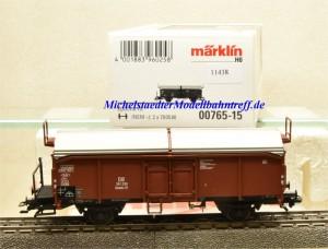 Märklin 00765-15 Schiebedachwagen DB, aus Display, (11438)