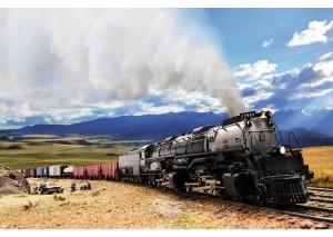 (Neu) Märklin 39912 US-Güterzug-Dampflokomotive Challenger,