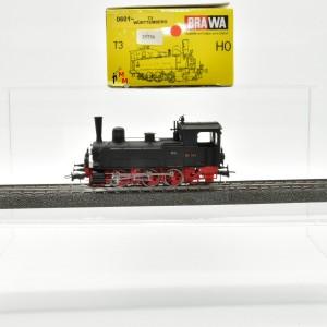 """Brawa 0601 Dampflok BR  der DRG, """"T3 Württemberg"""", Wechselstrom-digital, (25756)"""