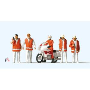 (Neu) Preiser 10100 Rettungsdienst,