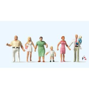 (Neu) Preiser 10284 Familie Krause beim Spaziergang,