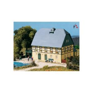 (Neu) Auhagen 11359 H0 Großes Bauernhaus mit Stall und Schauer,