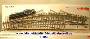 Märklin 2269 Elektr. Bogenweiche rechts, (10068)