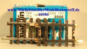Märklin 2202 Gerades Gleis, (10086)