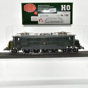 HAG 138 E-Lok BR Ae 4/7 der SBB, Wechselstrom, digital, (25760)