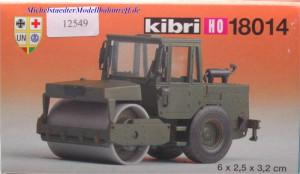 Kibri 18014 Bausatz Vibrationswalze, (12549)