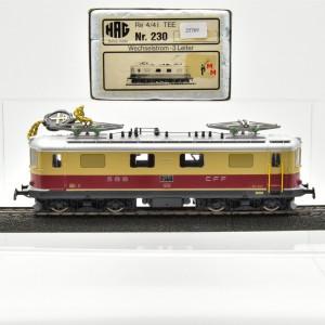 HAG 230 E-Lok BR Re 4/4I TEE Ausführung, Wechselstrom, (25769)