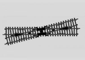 (Neu) Märklin 2257 Kreuzung, 14°, Länge der Gleise 225 mm