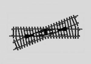 (Neu) Märklin 2259 Kreuzung, 22°, Länge der Gleise 168,9 mm