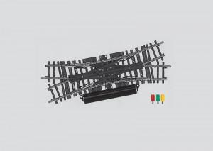(Neu) Märklin 2260 Doppelte Kreuzungsweiche mit Antrieb, entsp.