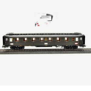 Brawa 2440 Preußischen D-Zugwagen, 1. Kl. der DRG, (25233)