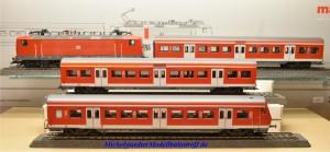 """Märklin 26507.999 Zugpackung """"S-Bahn-Zug"""", Lok und Steuerwagen mit Wendezugfunktion, 6-teilig, (20329)"""