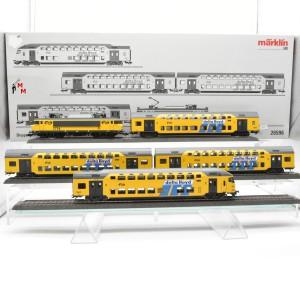 """Märklin 26596 Zugpackung """"Doppelstock-Nahverkehrszug"""",NS, beleuchtet, (20955)"""