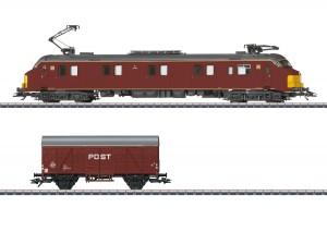 (Neu) Märklin 26613 Triebwagen Serie mP 3000 mit Güterwagen, NS, Ep.IV,