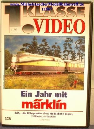 """Märklin 9519 """"Ein Jahr mit Märklin 2005"""", DVD, (11567)"""