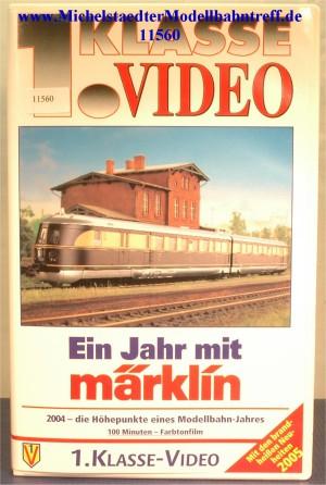 """Märklin 9017 """"Ein Jahr mit Märklin 2004"""",VHS, (11560)"""
