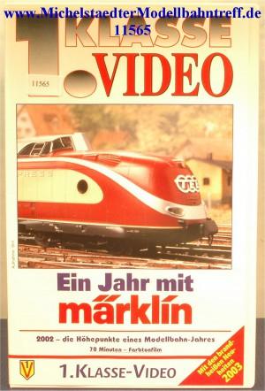 """Märklin 9013 """"Ein Jahr mit Märklin 2002"""",VHS, (11565)"""