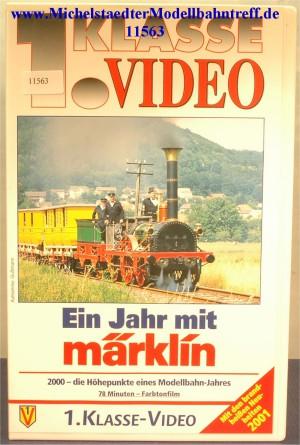 """Märklin 9011 """"Ein Jahr mit Märklin 2000"""",VHS, (11563)"""