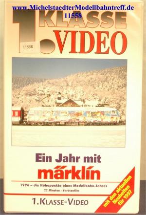"""Märklin 9006 """"Ein Jahr mit Märklin 1996"""",VHS, (11558)"""