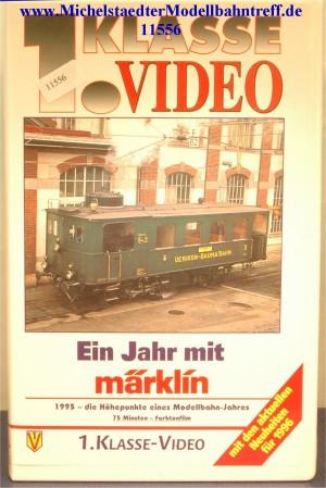"""Märklin 9005 """"Ein Jahr mit Märklin 1995"""",VHS, (11556)"""