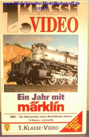 """Märklin 9012 """"Ein Jahr mit Märklin 2001"""",VHS, (11557)"""