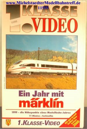 """Märklin 9009 """"Ein Jahr mit Märklin 1999"""",VHS, (11555)"""
