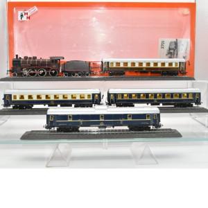 Primex 2701 Zugpackung Orient Express mit Gepäckwagen, digital, beleuchtet, (23128)