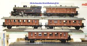 Märklin 28703 Zugpackung Historischer Schwedenzug mit Ergänzungswagen 42702, (20311)
