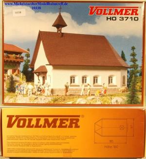 "(Neu) Vollmer 3710 Bausatz ""Kapelle am Schweineberg"", (10338)"