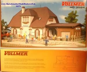 "(Neu) Vollmer 3524 Bausatz Bahnhof ""Tonbach"", (10376)"