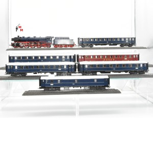 Märklin 29845.999 Personenzug aus Startset, inkl. Ergänzung 42753, beleuchtet, Funktionsdecoder, (22708)