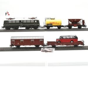 Märklin 29855.888 Güterzug aus Startset, mit BR E40 der DB, (22764)