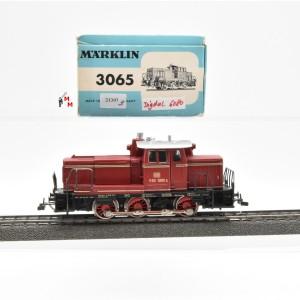 Märklin 3065.3 Diesellok BR V60 DB, Telex, digital mit Dec. 6080, (21397)