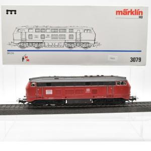 """Märklin 3079.1 Diesellok BR 216 der DB """"Lückenschlusslok"""", (22672)"""