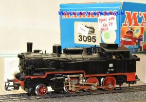 Märklin 3095.4 Dampflok BR 74 DB, digital Dec. 6080, (22039)