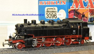 Märklin 3096.5 Dampflok BR 86, DB, ohne Telex, (10568)