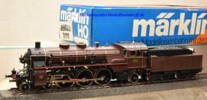 Märklin 3111.2 Dampflok Typ 59 der Belg. Staatsbahnen, (10080)
