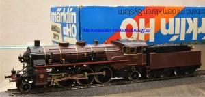 Märklin 3111.2 Dampflok Typ 59 der Belg. Staatsbahnen, (11571)