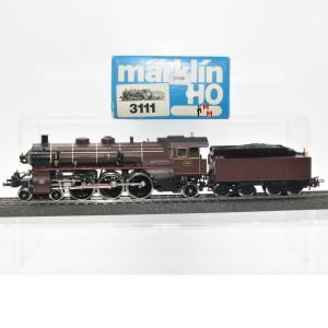 Märklin 3111.2 Dampflok Typ 59 der Belg. Staatsbahnen, (25248)