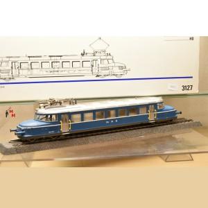 Märklin 3127 Schnelltriebwagen Blauer Pfeil, OeBB digital ESU 61600 mfx, (20321)